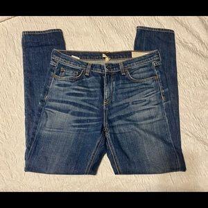 "RAG & BONE 10"" DRE EXTER Jeans Size 28 High Rise"